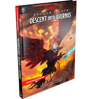 D&D Baldurs Gate Descent into Avernus Dungeons & Dragons Scenario Level 1-13
