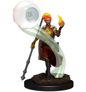 D&D Figur Icons Fire Genasi Wizard Femal Icons of the Realm Premium Figures