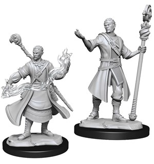 D&D Figur Nolzur Half-Elf Wizard Male Nolzur's Marvelous Miniatures