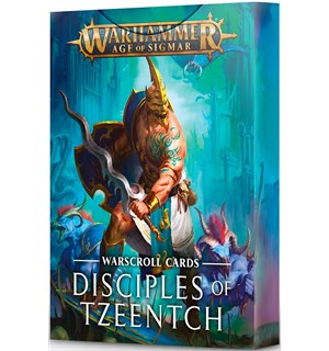 Disciples of Tzeentch Warscroll Cards Warhammer Age of Sigmar