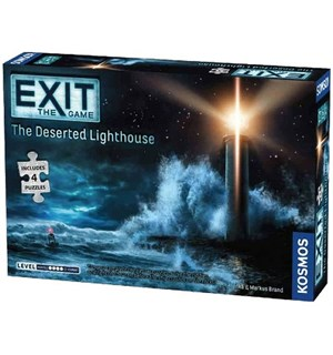EXIT The Deserted Lighthouse Puslespill Escape Room Puzzle