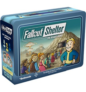 Fallout Shelter Board Game Brettspill