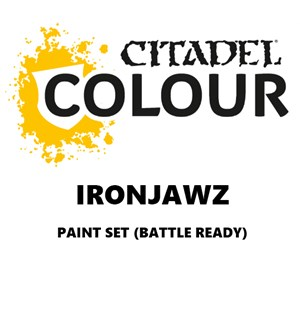 Ironjawz Paint Set Battle Ready Paint Set for din hær
