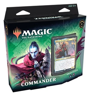 Magic Commander Sneak Attack Zendikar Rising