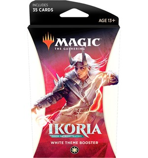 Magic Ikoria Theme Booster White Lair of Behemoths - 35 hvite kort