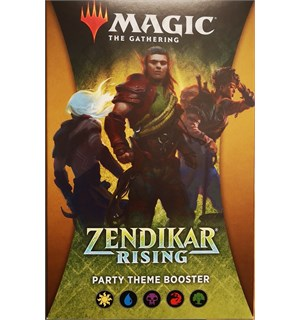 Magic Zendikar Rising Theme Party Theme Booster