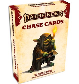 Pathfinder 2nd Ed Cards Chase Second Edition RPG - 55 kort