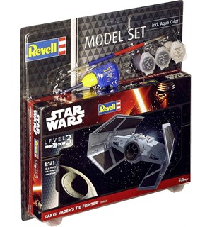 Star Wars Darth Vader Tie Starter Set Revell 1:121 Byggesett