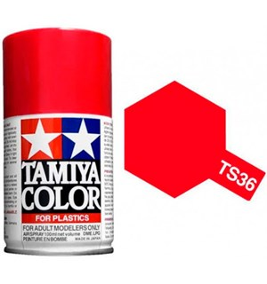 Tamiya Airspray TS-36 Fluorescent Red Tamiya 85036 - 100ml