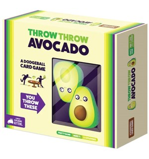 Throw Throw Avocado Brettspill Fra skaperne av Exploding Kittens