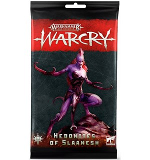 Warcry Cards Hedonites of Slaanesh Warhammer Age of Sigmar