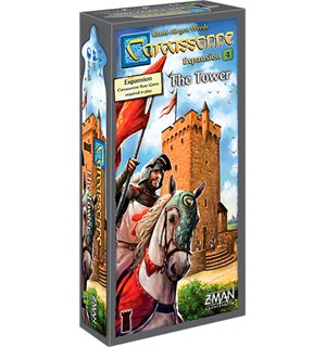 Carcassonne The Tower Expansion Utvidelse nr 4 til Carcassonne