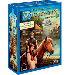 Carcassonne Inns & Cathedrals Expansion Utvidelse nr 1 til Carcassonne