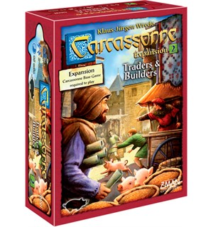 Carcassonne Traders & Builders Expansion Utvidelse nr 2 til Carcassonne