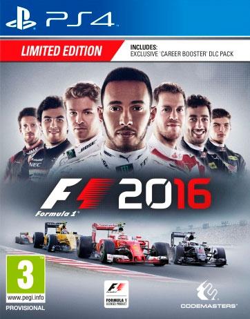 F1 2016 #CreateYourOwnLegend F1-2016