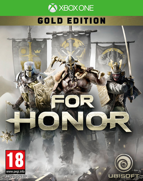 For Honor Gold Edition Xbox One Inkluderer Season Pass + bonuser